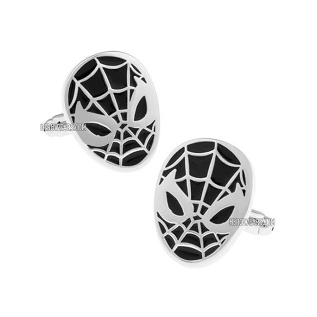 Spider-Man Black Superhero Cufflinks