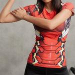 Iron Man Superhero Compression T-Shirt