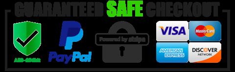 Safe & Secure Checkout
