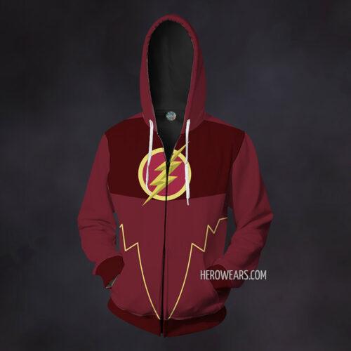 The Flash Zip Up Hoodie