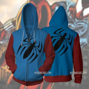 Scarlet Spider Ben Reilly Zip Up Hoodie