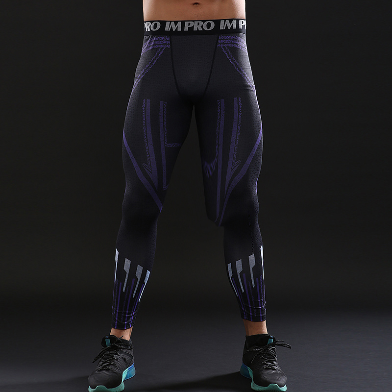 04595643bf1ac7 Black Panther Charged Compression Leggings - HeroWears.com