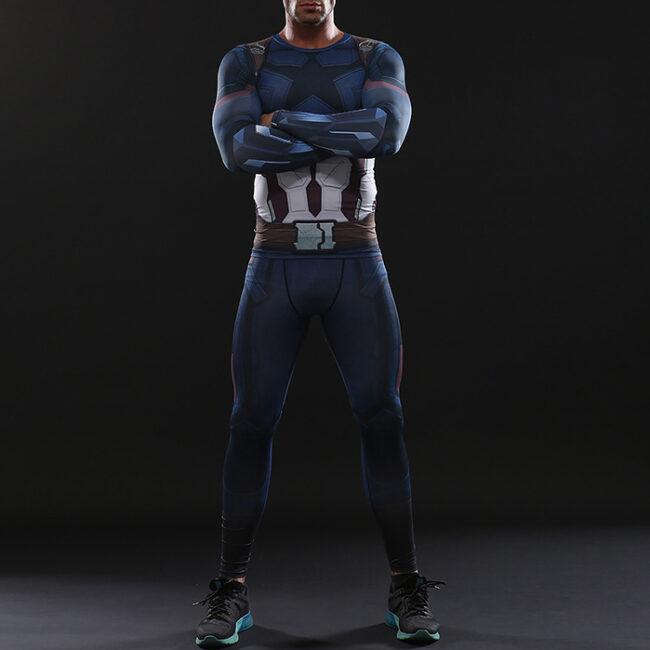 Captain America Infinity War Leggings