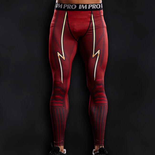 Flash Superhero Compression Leggings