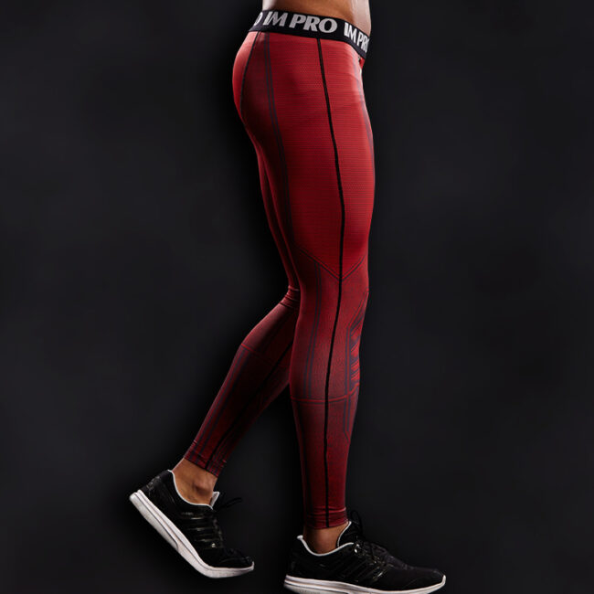 Flash Superhero Compression Leggings