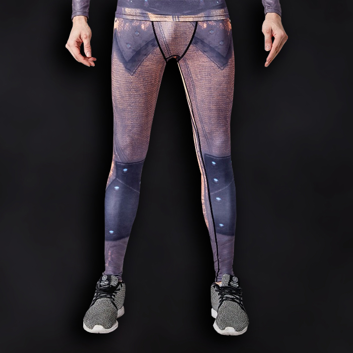 Reverse Flash Superhero Compression Leggings