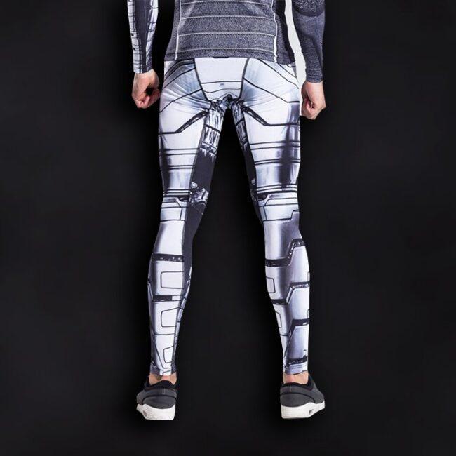Winter Soldier Superhero Compression Leggings