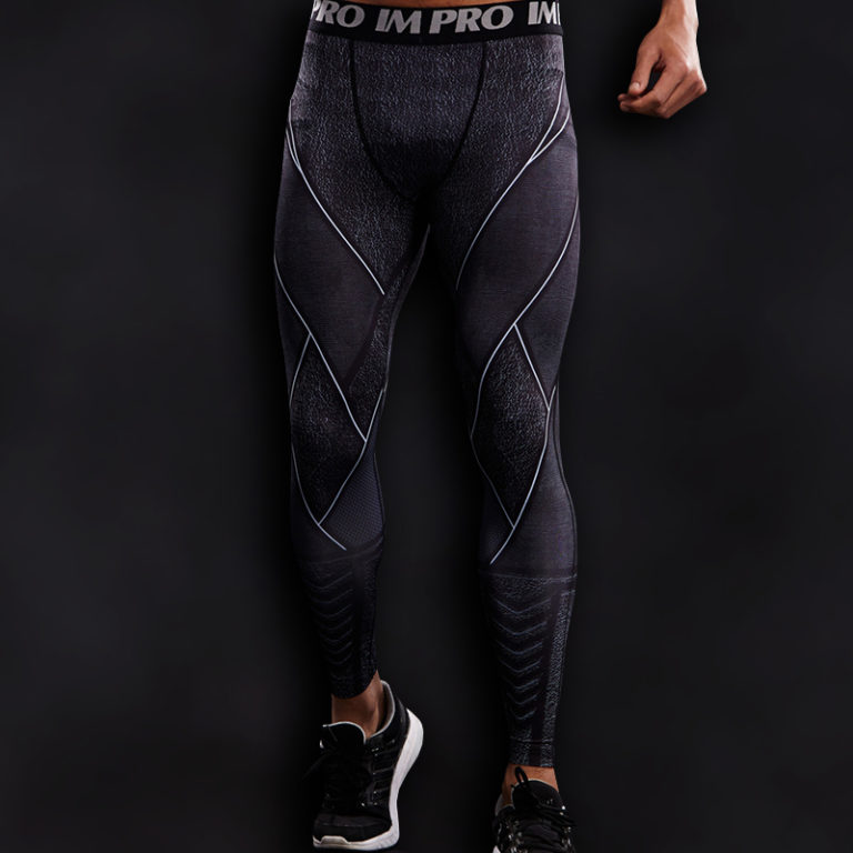 Zoom Superhero Compression Leggings