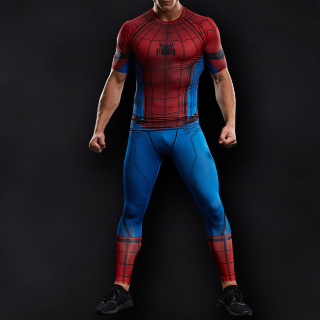 Spider Man Superhero Compression Leggings