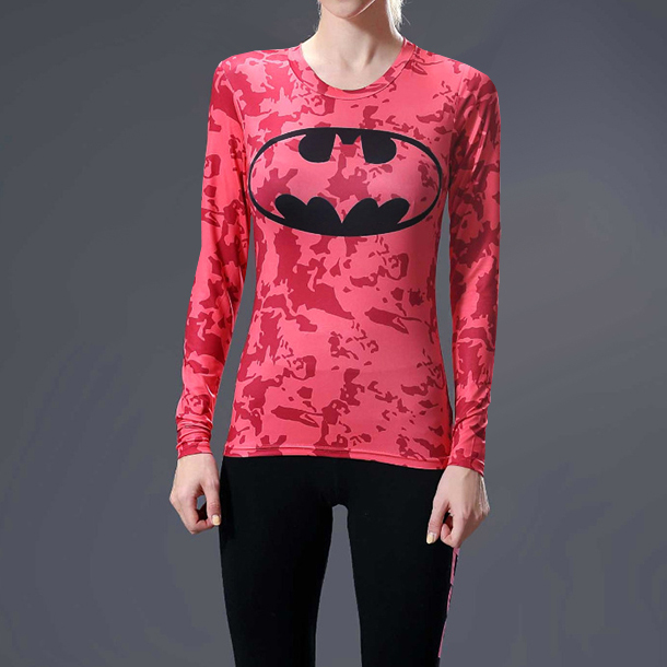 Batman Superhero Compression T-Shirt