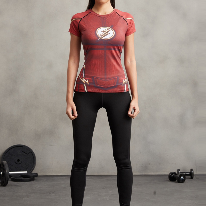 Flash Superhero Compression T-Shirt