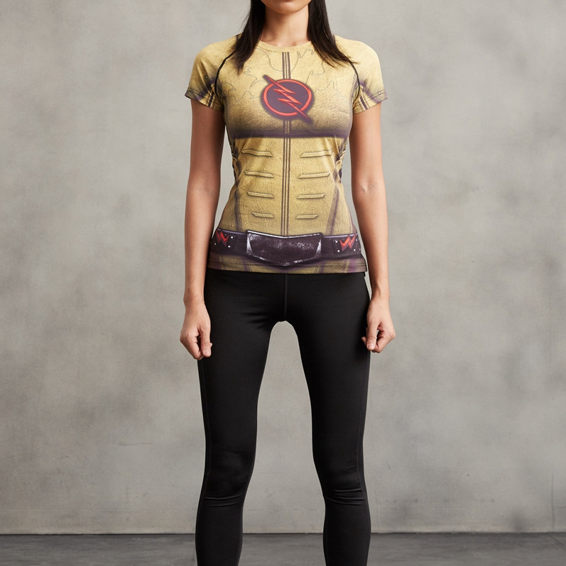 Reverse Flash Superhero Compression T-Shirt