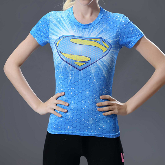 Superman Superhero Compression T-Shirt