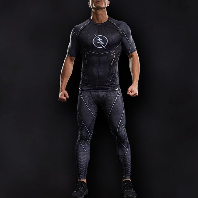 Zoom Superhero Compression Leggings