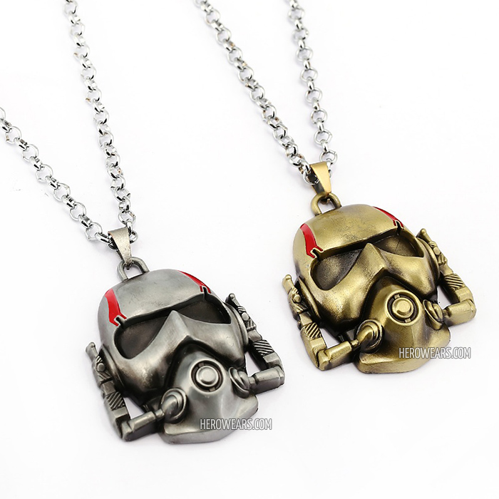 Ant-Man Superhero Pendant Necklace