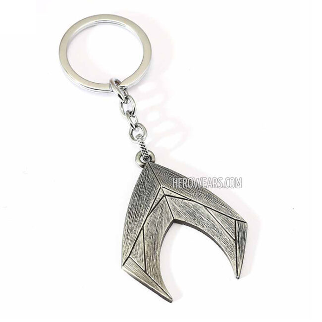 Aquaman Superhero Pendant Keychain