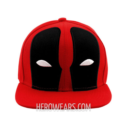 Deadpool Mask Snapback - Superhero Hats - HeroWears.com 97fd2cb6b92d