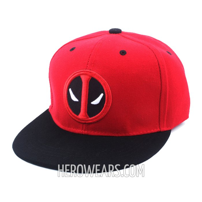 Deadpool Superhero Snapback Hat