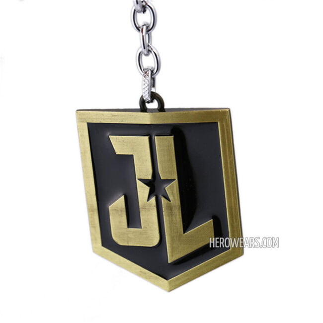Justice League Superhero Pendant Keychain