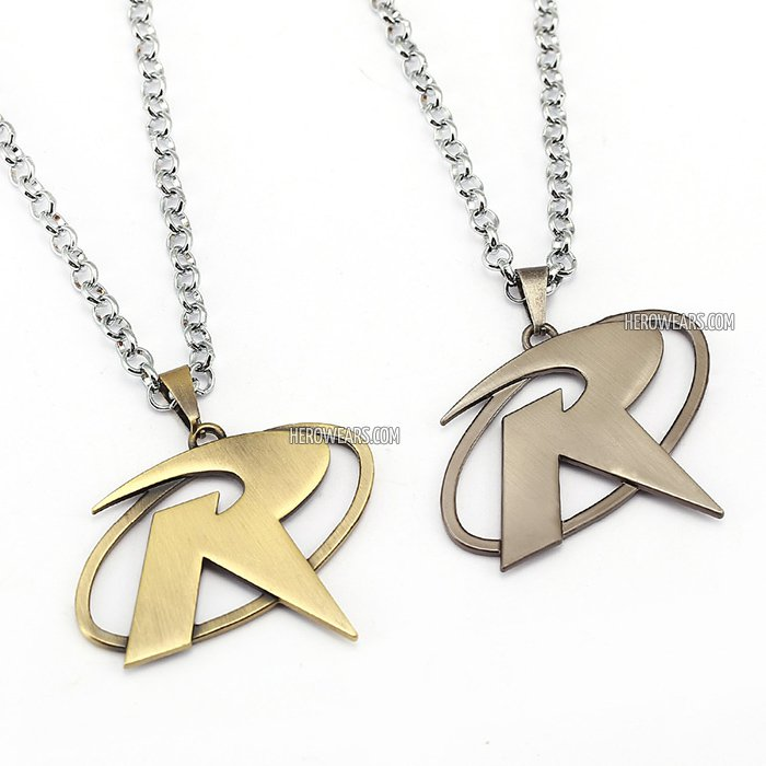 Robin Superhero Pendant Necklace