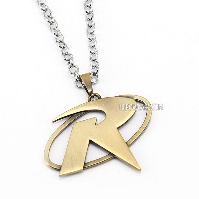 Robin Superhero Pendant Necklace