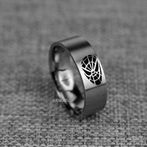 SpiderMan Ring Superhero Rings HeroWearscom