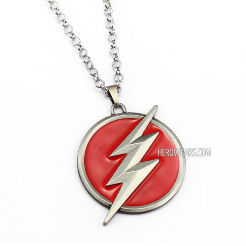 the flash pendant necklace herowears