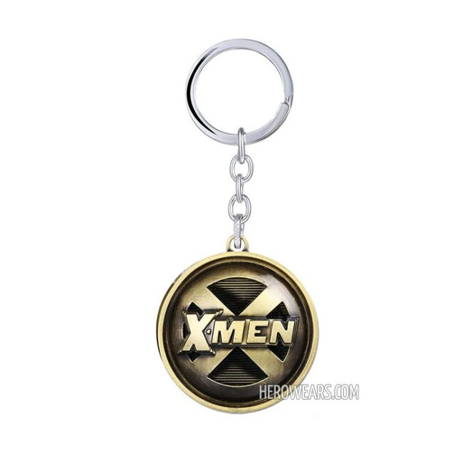 X-Men Superhero Pendant Keychain