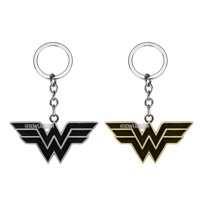 Wonder Woman Superhero Pendant Keychain