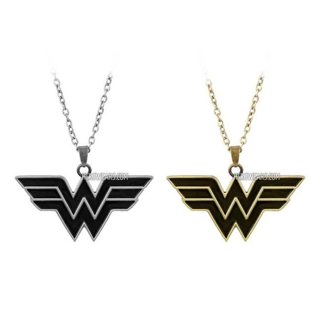 Wonder woman necklace superhero pendant necklaces herowears wonder woman superhero pendant necklace aloadofball Gallery