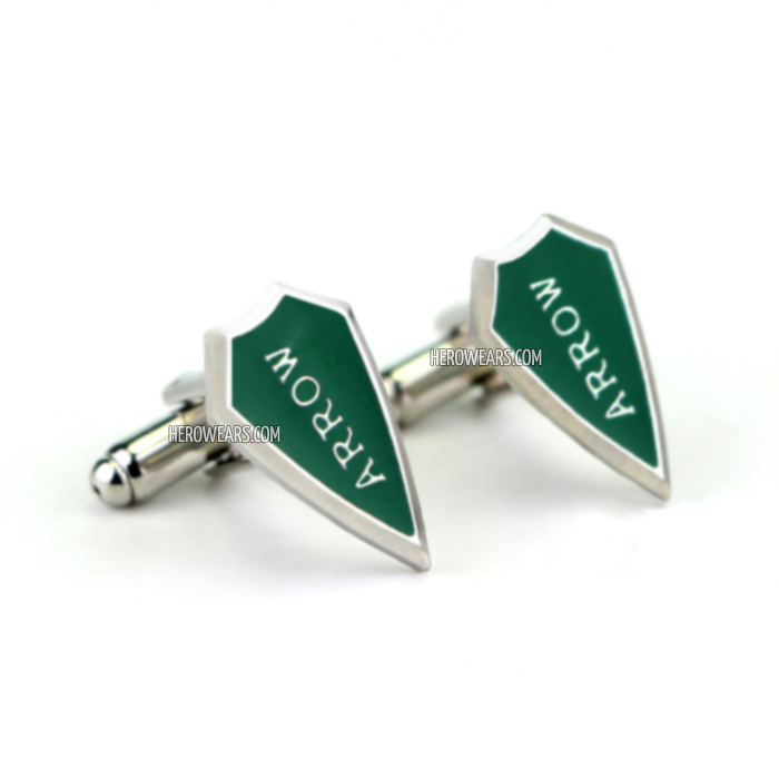 Arrow Superhero Cufflinks
