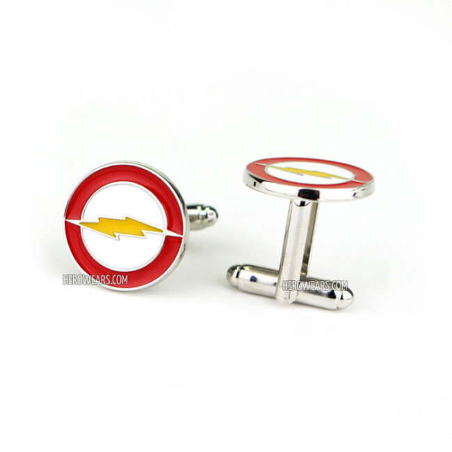 Flash Superhero Cufflinks