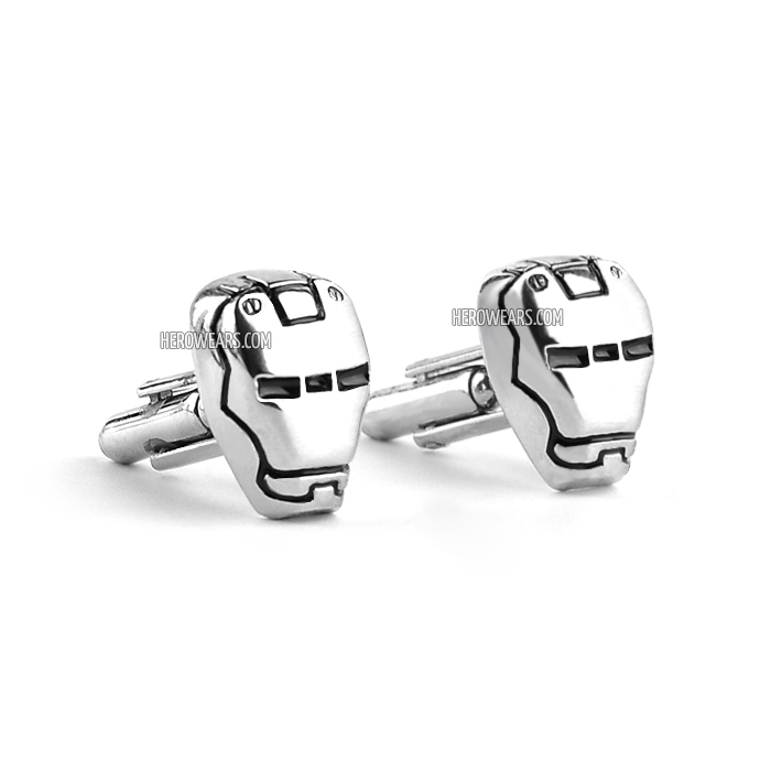 Iron Man Superhero Cufflinks