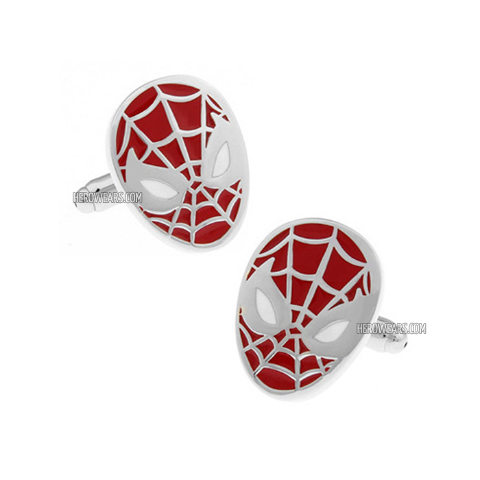Spider Man Superhero Cufflinks