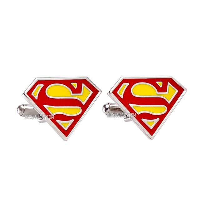Superman Superhero Cufflinks