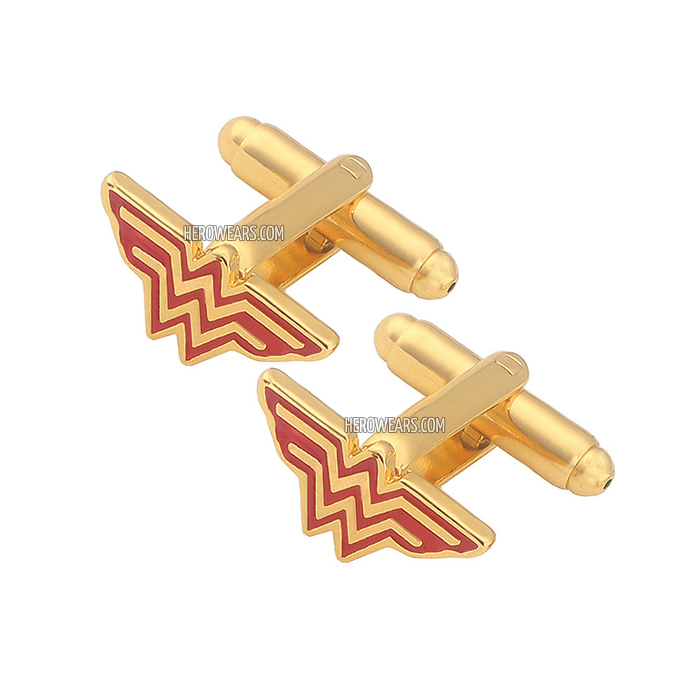 Wonder Woman Superhero Cufflinks