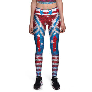 Women's Captain America Leggings
