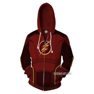 Flash Zip Up Hoodie