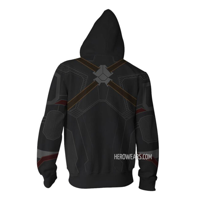 Captain America Avengers Infinity War Zip Up Hoodie