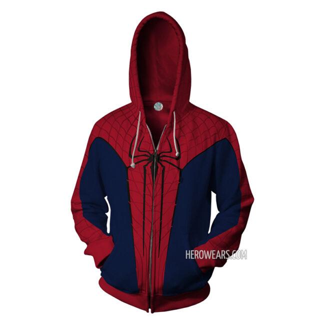 The Amazing Spider Man Zip Up Hoodie