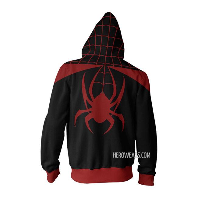 Ultimate Spider Man Miles Morales Hoodie