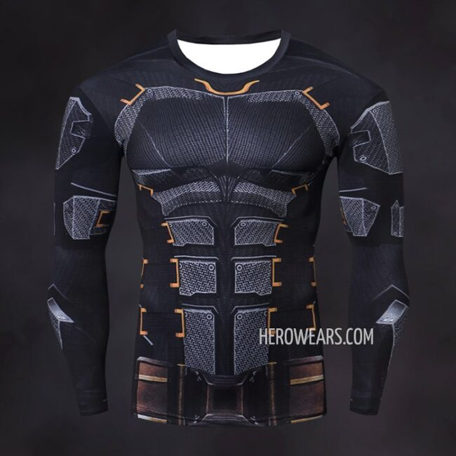 Batman Compression Shirt Rash Guard