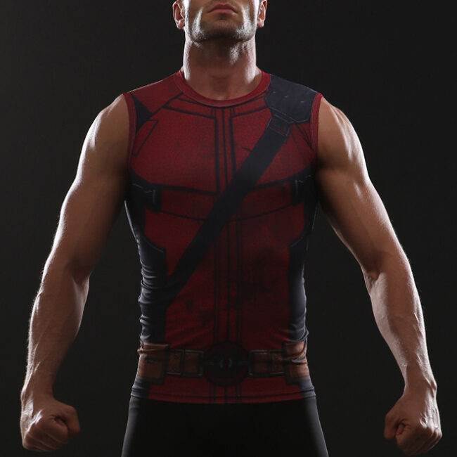 cebd40fafb278 Deadpool 2 Tank Top - HeroWears.com - Premium Superhero Compression T-Shirts