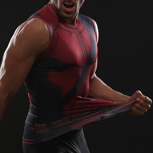 799666300c8bc Deadpool 2 Tank Top - HeroWears.com - Premium Superhero Compression ...