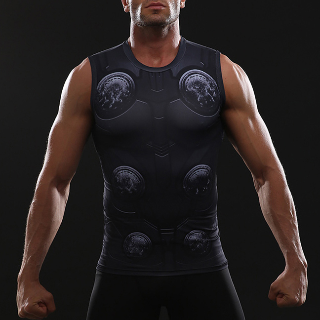 Thor Black Tank Top