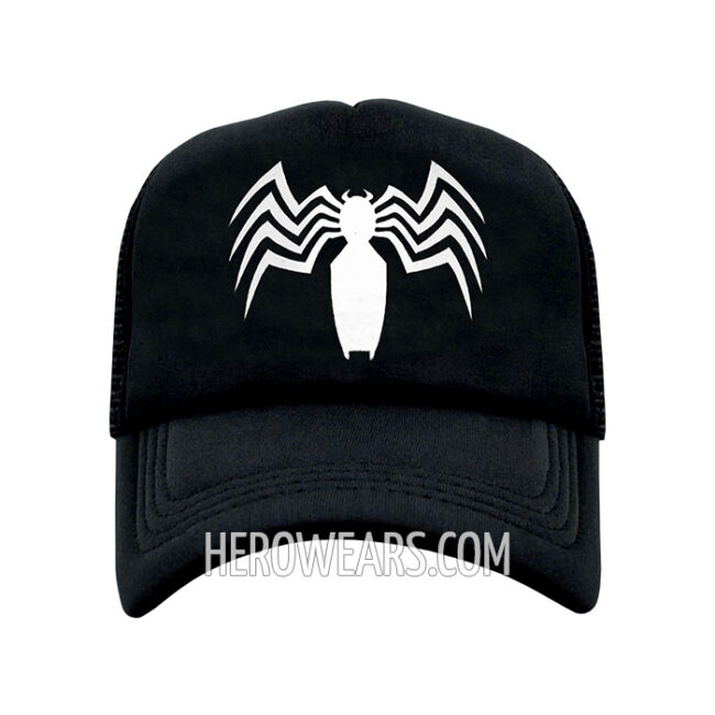 Symbiote Mesh Snapback - Superhero Hats - HeroWears.com 6ff780cab243