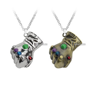 Thanos Infinity Guantlet Necklace