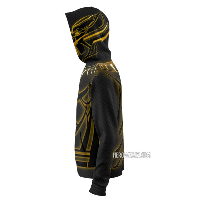 Black Panther Zip Up Hoodie