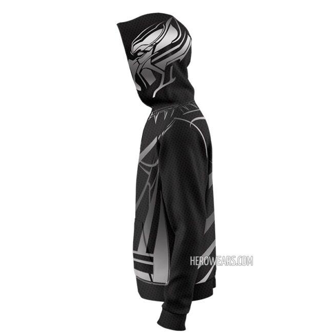 Black Panther Zip Up Hoodie