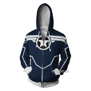 Captain America Secret Avengers Zipper Hoodie